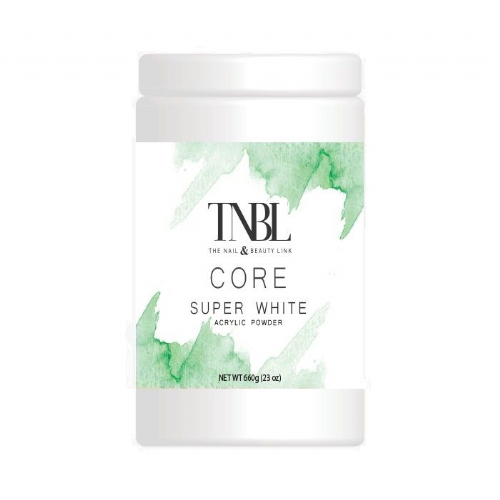TNBL Core Acrylic Powder - Super White 660g / 23oz